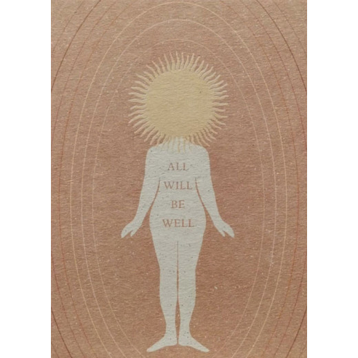 All will be well  | Postkarte von Anna Cosma